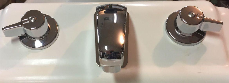 Slant Back Kitchen Faucet
