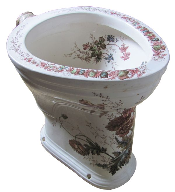 Toilet With 14 Rough In