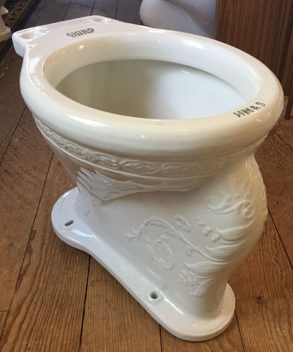 Antique Vintage Toilet