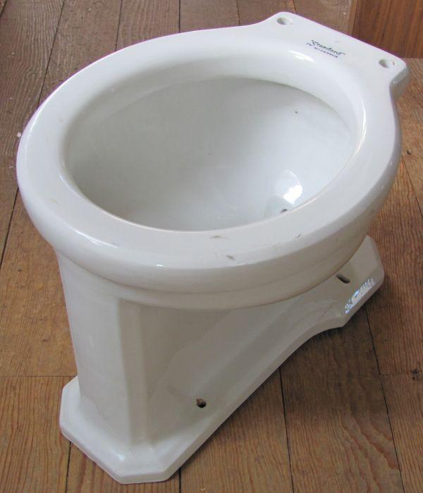 Antique Vintage Toilet Bowl