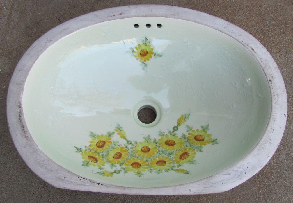 Antique vintage undermount sink