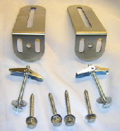 Great Made Of Durable Stainless Steel, And Designed To Specifically Fit Crane Pedestal  Sinks, These Brackets Are A Copy Of An Original Bracket.