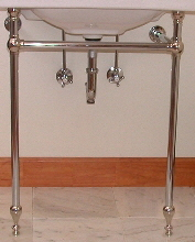 Console Type Leg Kit With Towel Bars Double Leg Kit Measures 36u201d Wide With  36u201d Tall Legs. Side Towel Bars Are 24u201d Long. All Tubes May Be Cut Down To  Desired ...