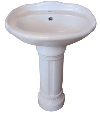 Sink And Pedestal : edwardian style porcelain pedestal sink this is a lovely sink