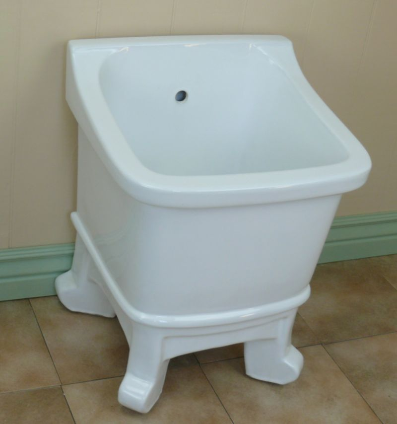 Porcelain Mop Sink : freestanding china mop sink imagine the possibilities this sink stands