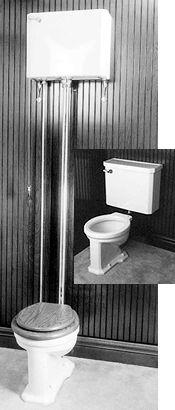 Antique Toilet Parts