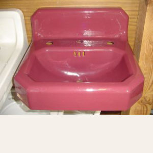 Vintage '30's Standard Cast Iron Art Deco Sink