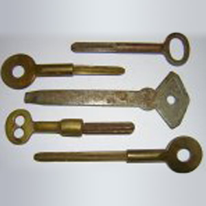 Antique Long Safe Keys