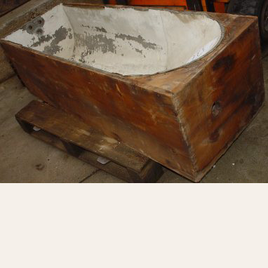 Dovetailed Coffin Tub
