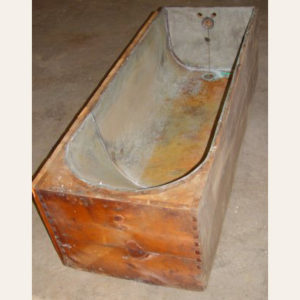 Pine Wood Coffin Tub