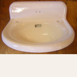 "Pre-WW1 Antique ""Standard"" Cast Lavatory Sink"