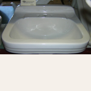 "1960 Vintage ""Standard"" China Wall Hung Sink"