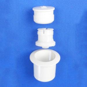 Ifo Aqua 21 Toilet Flush Knob & Lid Nut