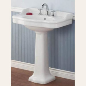 Antique Styled Pedestal Lavatory Sink