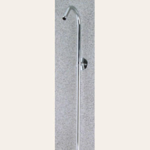 3/8″ pipe thread shower riser, 62″ long