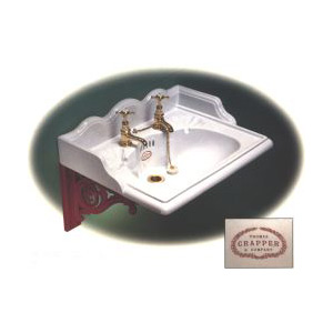 Oversize Thomas Crapper & Company Wall Hung Basin