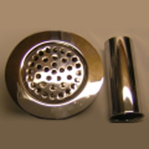 Wide-Top Kitchen Sink Strainer