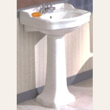 Antique Style Pedestal Lavatory Sink