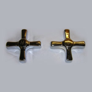 """Standard"" Metal Cross Faucet Handles"