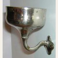 Circa 1932 Wolverine Brass Tumbler Holder