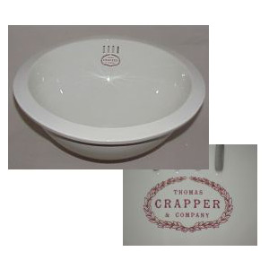 Thomas Crapper and Company Round Inset Basin Sink