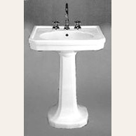 Art Deco Mayfair Pedestal Sink