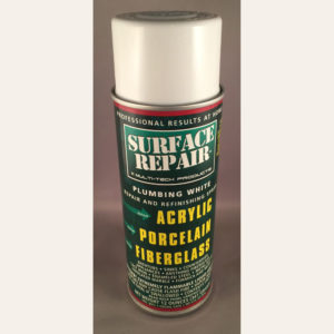 Surface Repair Refinishing Spray Plumbing White