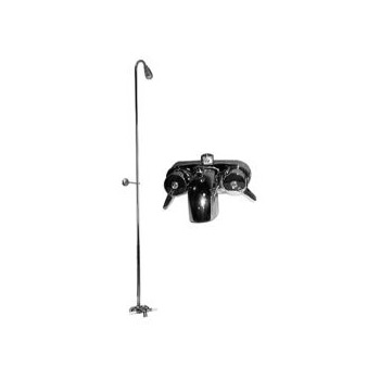 77-195 Converto Shower Riser and Clawfoot Tub Faucet