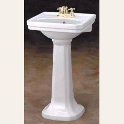 "Mini Art Deco ""Mayfair"" Lavatory sink"