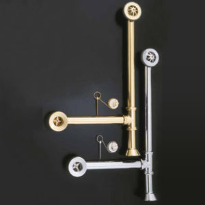 Clawfoot Tub Drain With Chain And Stopper