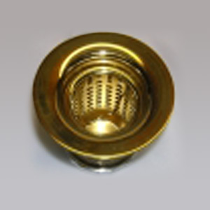 "Extended Junior Basket Strainer for Sinks with 2"" Drain Hole"