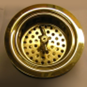 Winged Strainer Kitchen Sink Drain