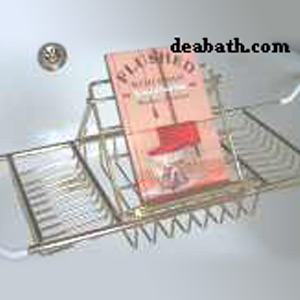 Clawfoot Tub Caddy With Reading Rack