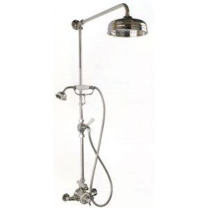Thomas Crapper Thermostatic Shower Assembly With Handheld Shower Wand
