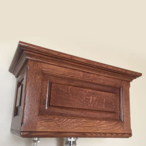 Quartersawn White Oak Hightank Toilet Tank Only