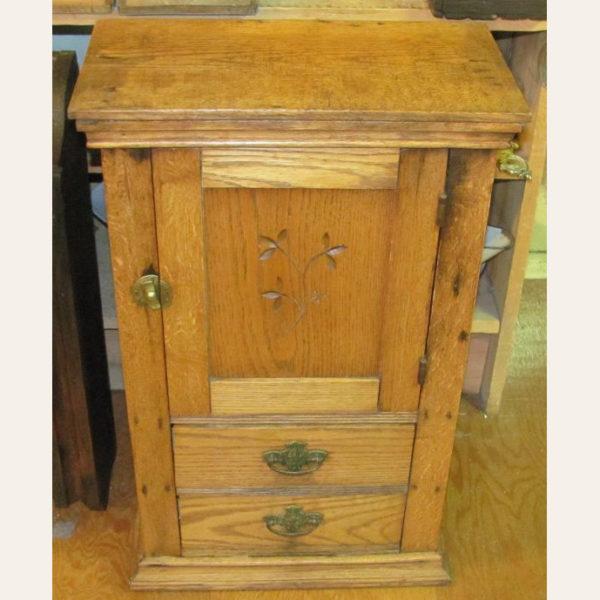 Circa 1900 Antique Eastlake Shaving Cabinet
