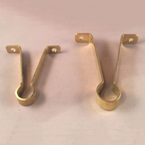Brass Mounting Brackets For Glass Towel Rods