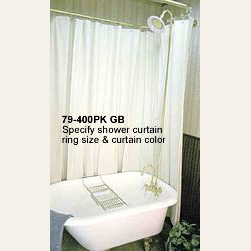 Anti Syphon Clawfoot Tub Package