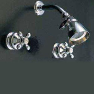 "Sign Of The Crab ""Thames"" Two Handle Shower Valve"
