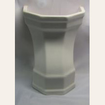 Vintage Ceramic Cover Case For Low Tank Toilets
