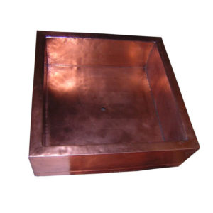 "32"" Copper Shower Pan"