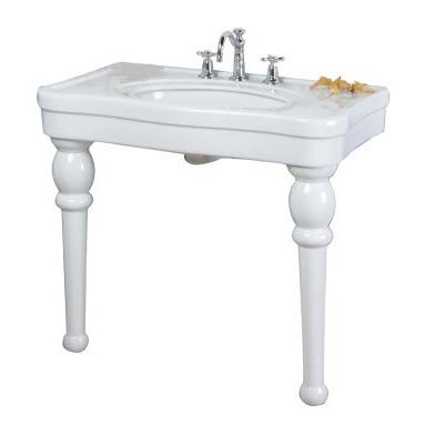 Versailles Porcelain Console Lavatory Sink