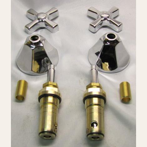 Standard Integral Spout Shelfback Lavatory Sink Retrim Kit