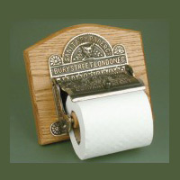 Bury Street London Victorian Toilet Paper Holder