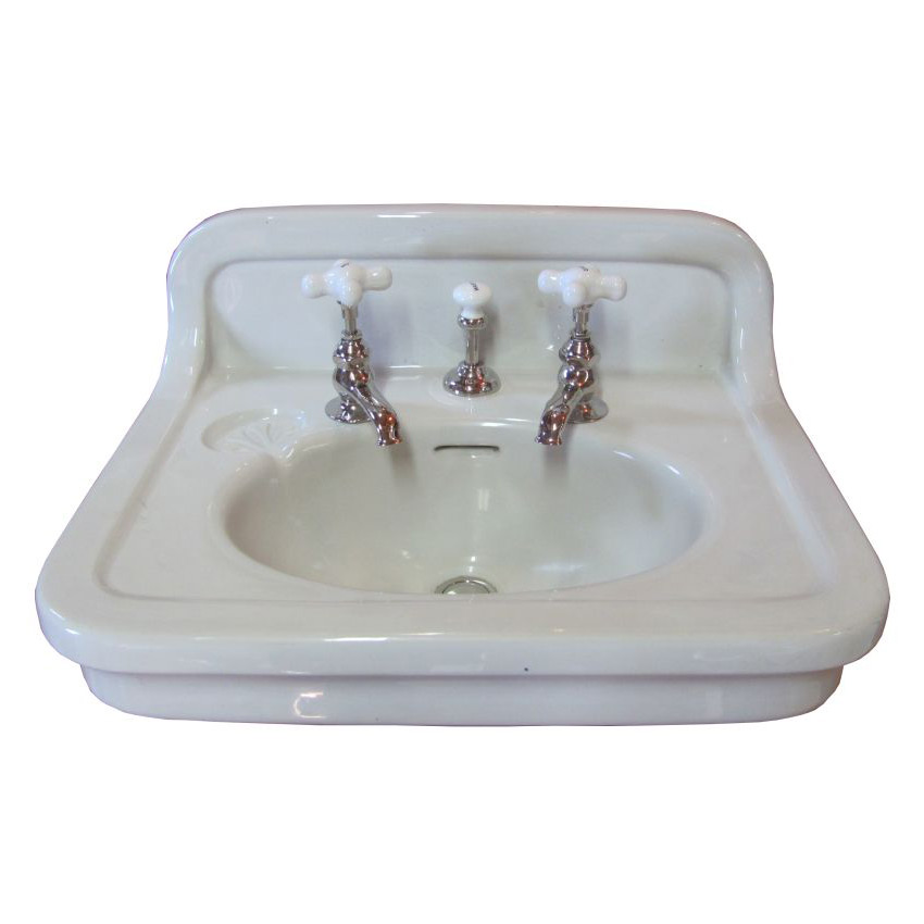 Circa 1923 Vintage Tepeco Wall Hung Sink Dea Bathroom Machineries