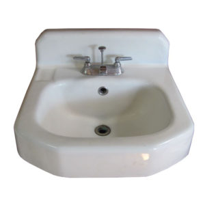 1955 Vintage Kohler Cast Iron Wall Hung Sink