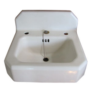 1937 Vintage Kohler Cast Iron Wall Hung Sink