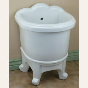 Porcelain Freestanding Mop Sink