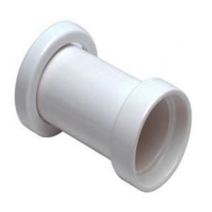 Crapper Straight Porcelain Waste Connector