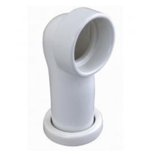 Porcelain Elbow Connector For Crapper Toilet Bowls